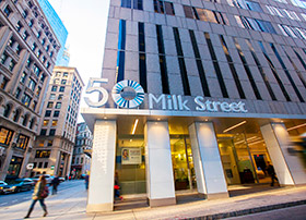 50 Milk St. street view